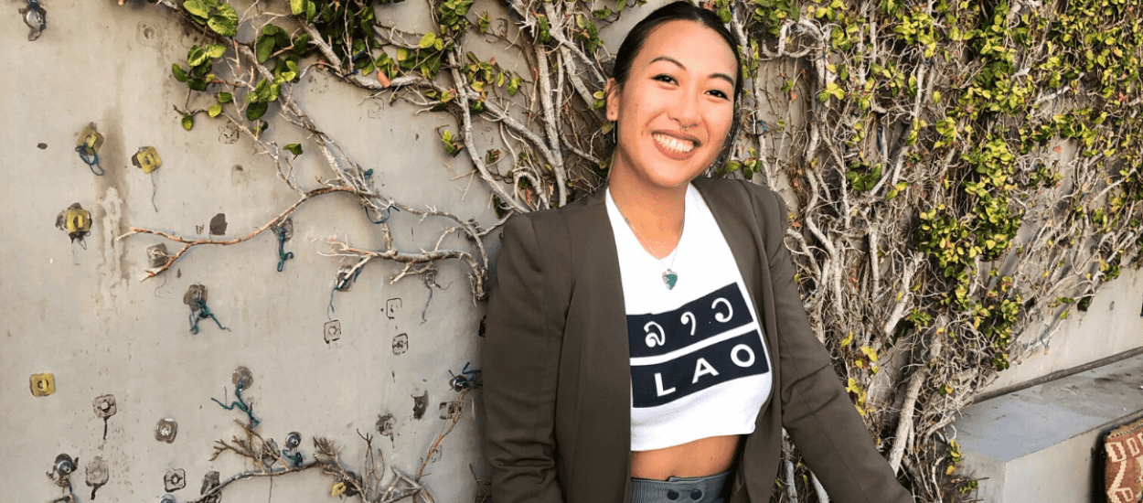 Southeast Asian and Lao American, Rita Phetmixay, host of Healing Out Lao'd podcast