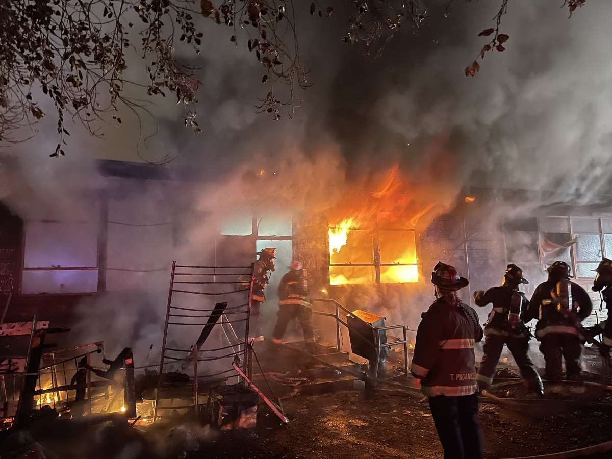 Fire at the Vietnamese Community Center