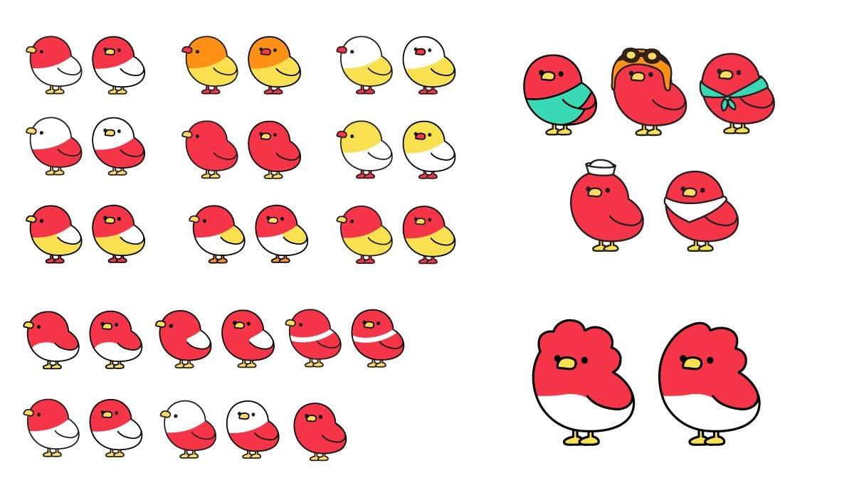 Mascot development