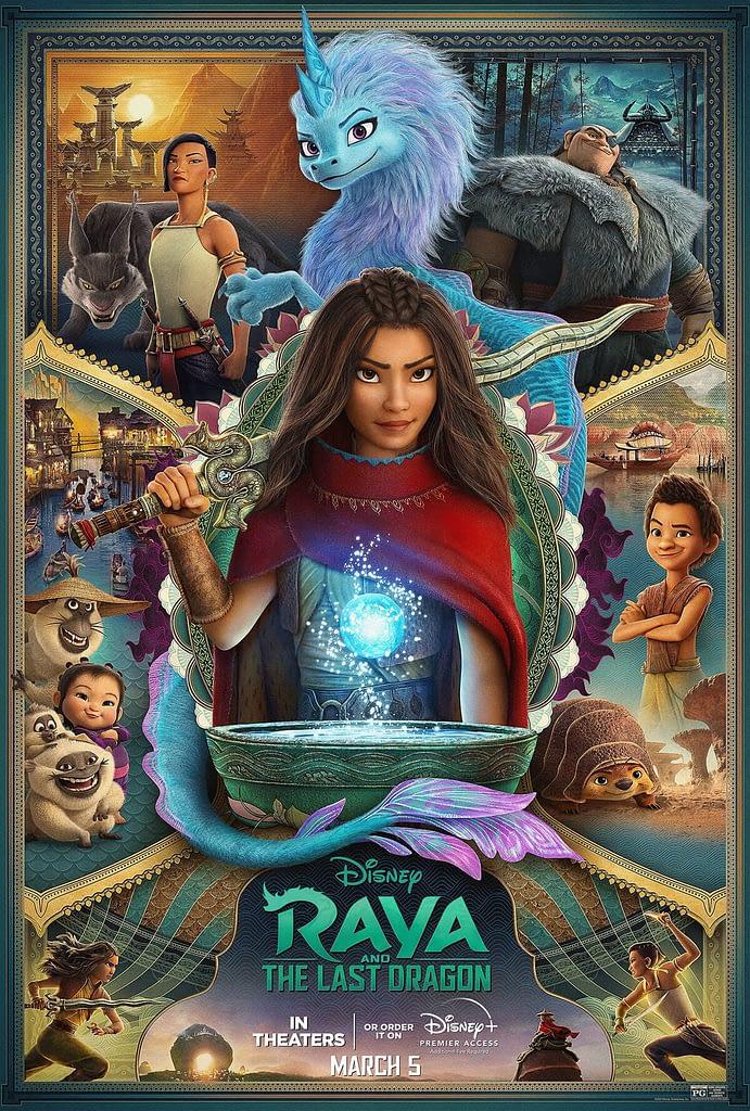 Digital Marketing Agency reviews Raya and the Last Dragon