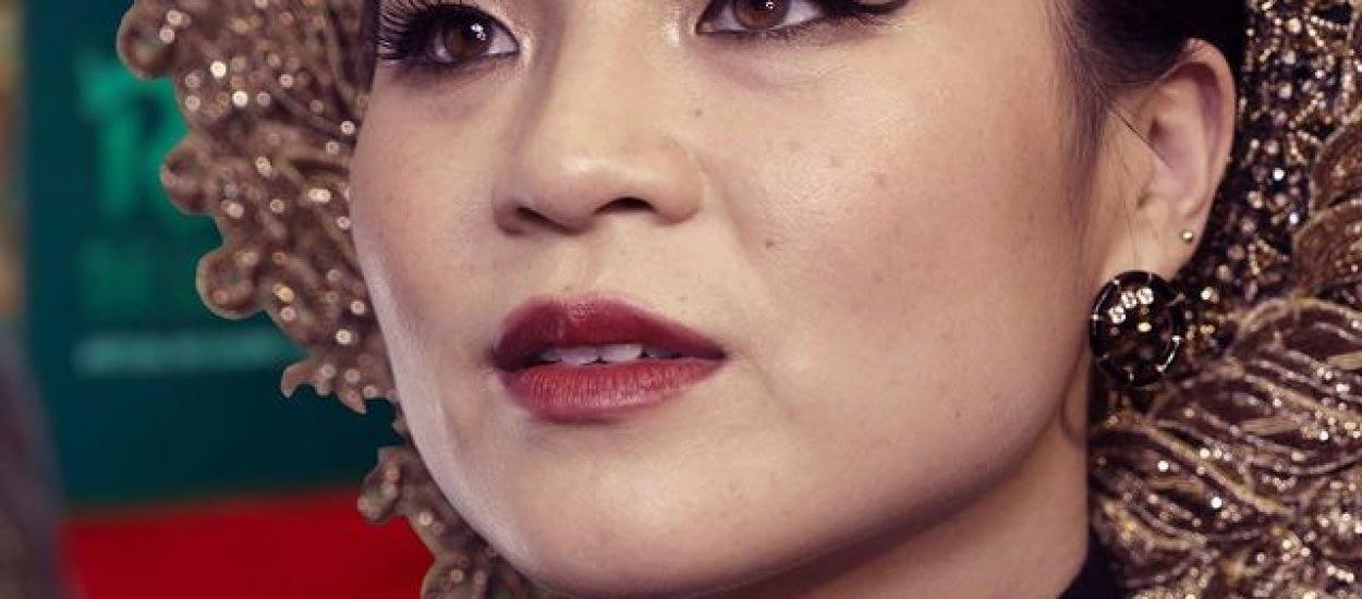 Portrait of Kelly Marie Tran on virtual red carpet