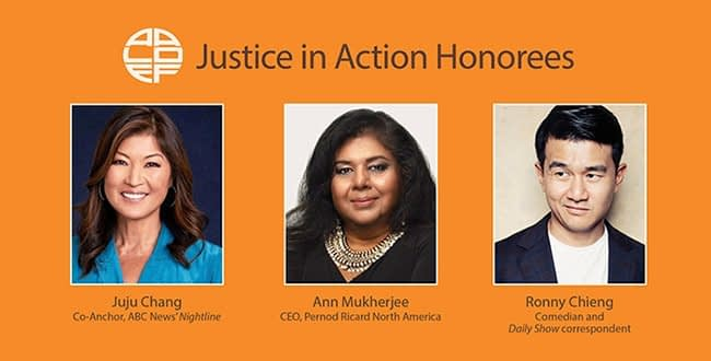 AALDEF Justice in Action Honorees