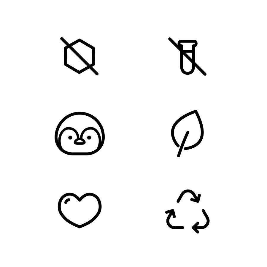Custom Icons for Love & Pebble