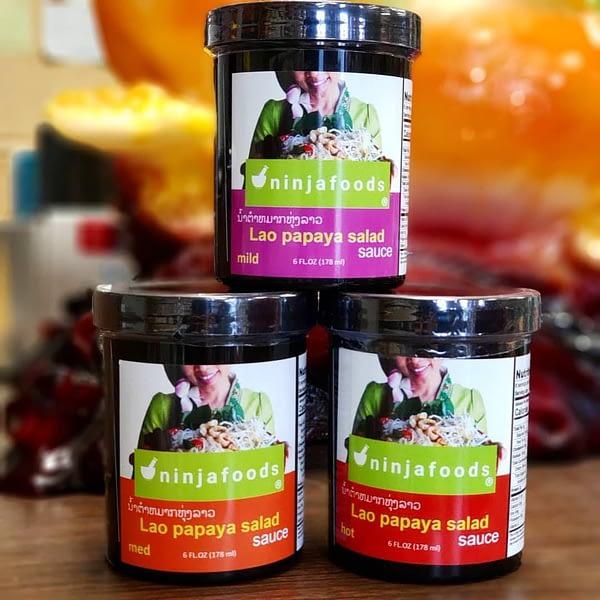 Ninja Foods Lao Papaya Sauce